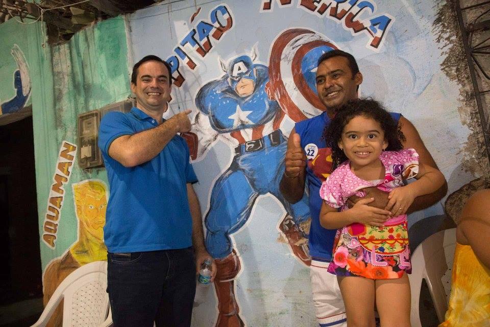 Super-heróis nas ruas