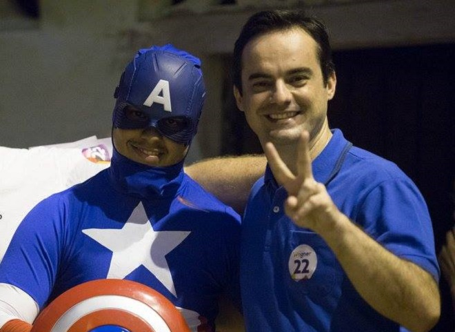 """""""Marvel vai precisar de muito advogado para acionar cada eleitor"""", diz Capitão Wagner"""