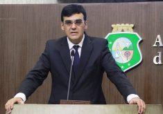 Naumi Amorim foi eleito prefeito de Caucaia. Foto: Junior Pio/AL-CE