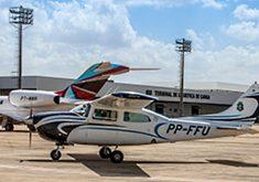 A aeronave tem uma economia de voo de cerca de 40% (FOTO: Governo do Estado do Ceará/José Wagner