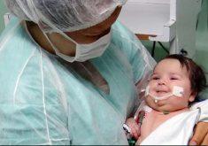 Ariele recebeu o novo coração em outubro. (Foto: Divulgação/Secretaria da Saúde do Estado do Ceará)