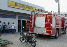 Agência sofreu primeiro ataque na sexta-feira. (Foto: Reprodução/Correio Pedrabranquense)