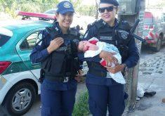 A Guarda Municipal atuou na identificação das mulheres e localização da criança. (Foto: Guarda Municipal/Divulgação)