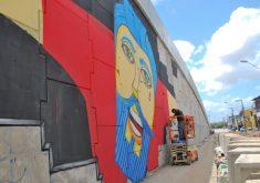 O Festival surgiu em 2003 e desde então tem valorizado cada vez mais o movimento da arte urbana. (FOTO: divulgação)