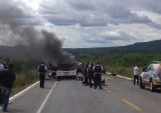 Polícia investiga relação do grupo com ataques a carros fortes. (Foto: Reprodução/Whatsapp)