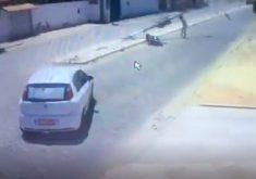 O motorista não prestou socorro à vítima. (FOTO: reprodução)