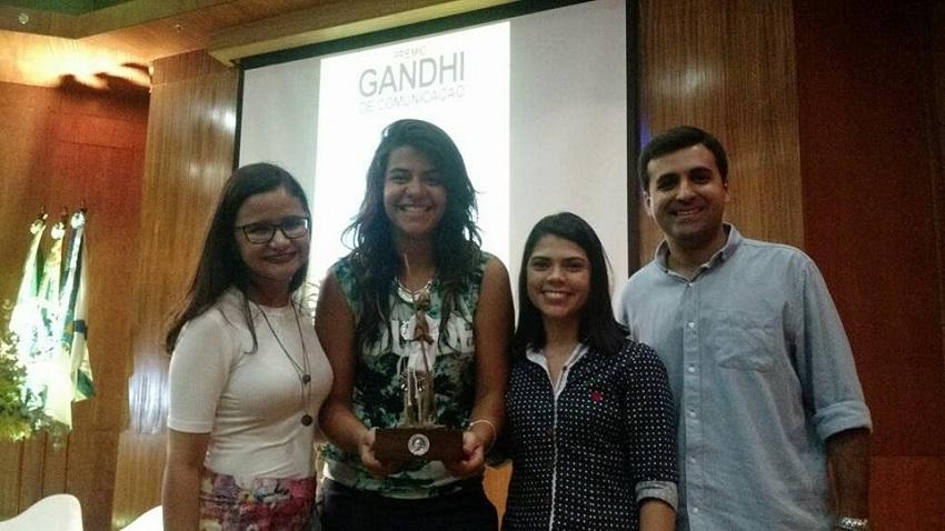Tribuna do Ceará é tricampeão do Prêmio Gandhi de Comunicação