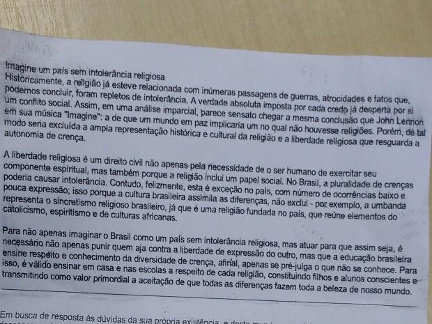 Candidato preso por fraude em Enem já sabia tema da redação, afirma PF