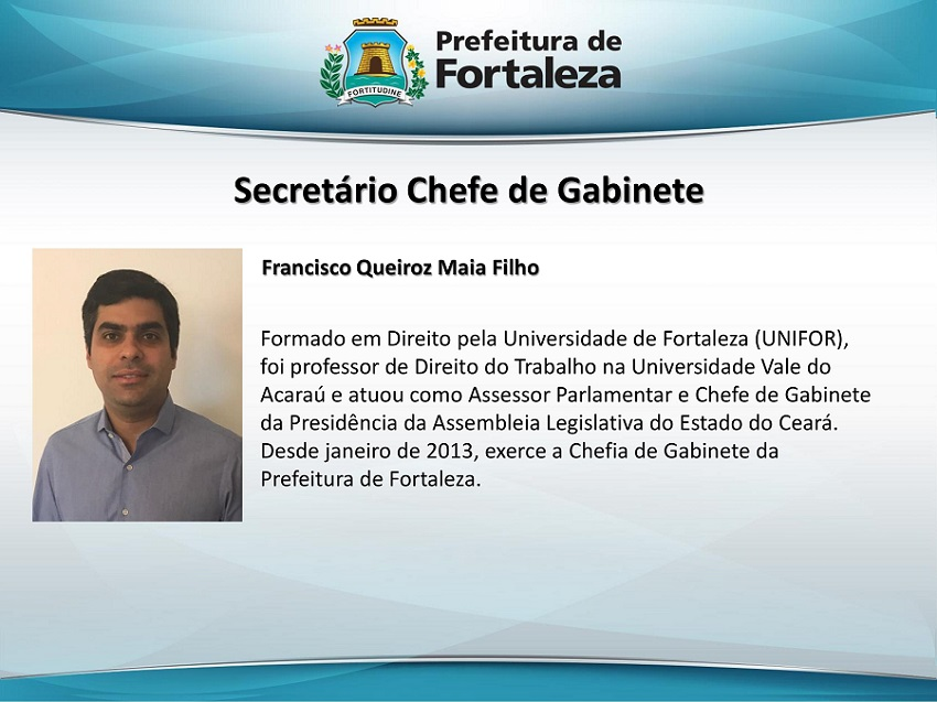 NOVO SECRETARIADO DE ROBERTO CLÁUDIO