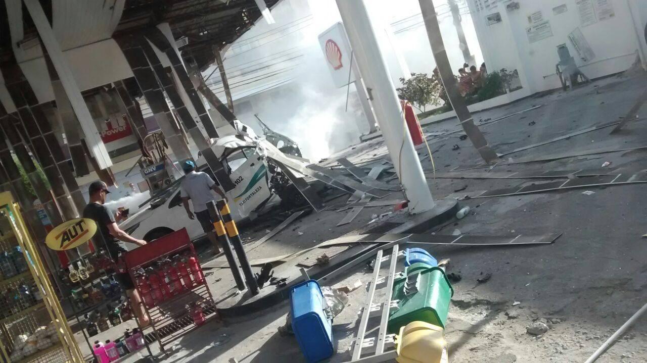 Explosão (FOTO: Reprodução/Whatsapp)