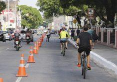 Ciclofaixa de Lazer ocorre das 7h às 13h (FOTO: Reprodução/Prefeitura de Fortaleza)