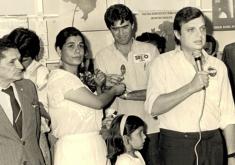 Tasso Jereissati foi eleito em 15 de novembro de 1986. Foto: Arquivo