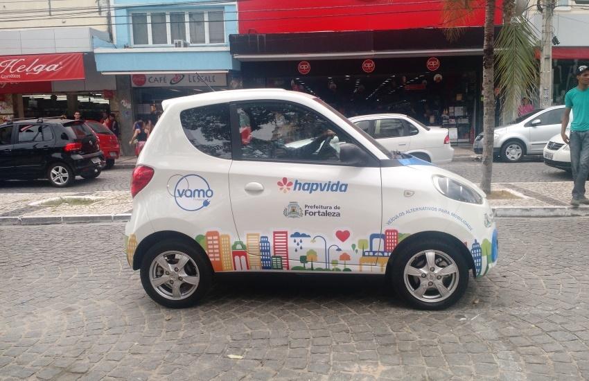 Andar de carro compartilhado em Fortaleza é mais barato que de táxi e Uber