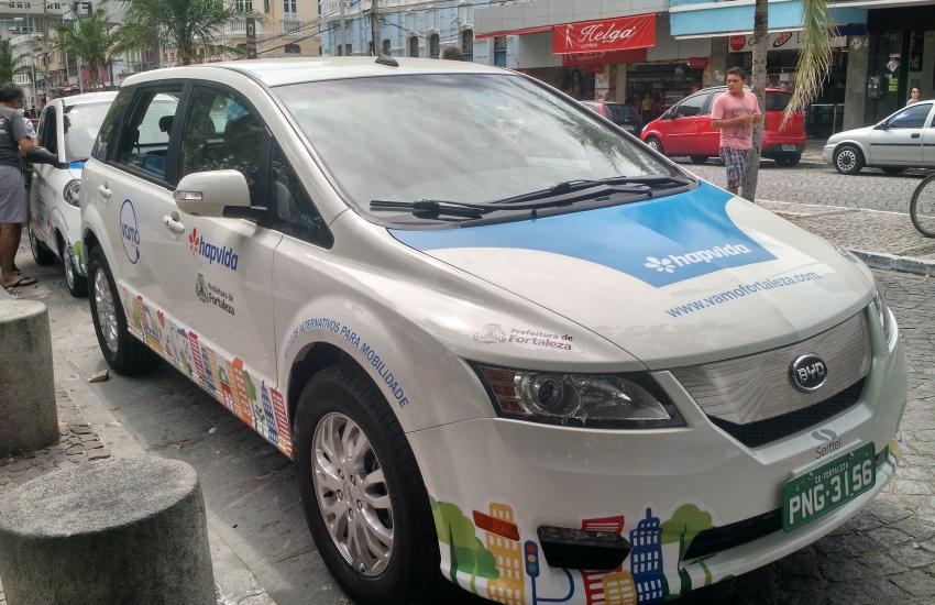 Maioria dos usuários de carros compartilhados em Fortaleza tem entre 31 e 40 anos