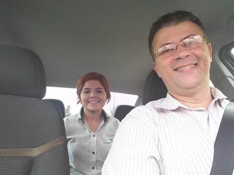 Laurenos roda cerca de 150km por dia em Fortaleza