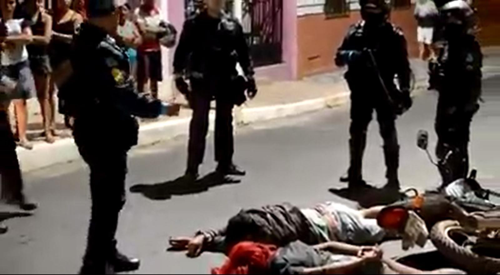 Policial desabafa após a PM prender casal de assaltantes pela 9ª vez em 1 mês