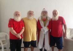 Ailton Gonçalves, João Duarte, Gino Palma e Maxwel Goulart. (FOTO: Tribuna do Ceará/ Rosana Romão)