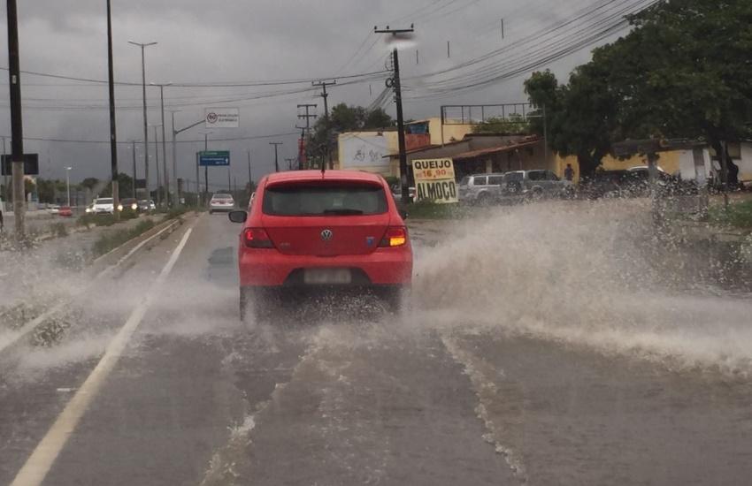 Chuva no Ceará ultrapassa 100 milímetros nesta quarta
