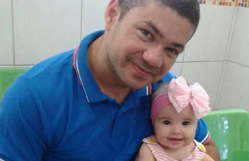 Campanha de solidariedade rifará festa para ajudar filha de policial assassinado