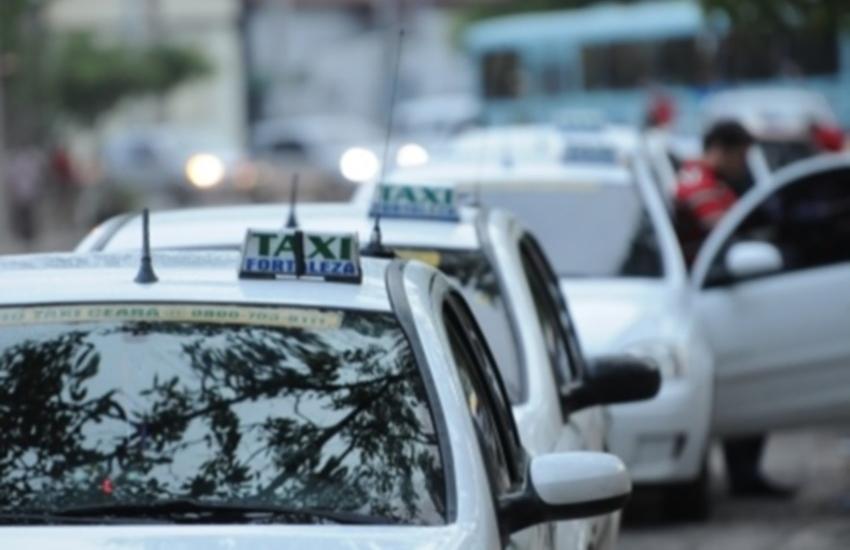 Prefeitura inicia estudos para aumentar frota de táxis em Fortaleza