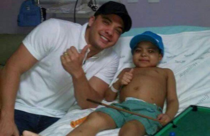 Menino com leucemia morre dias depois de realizar o sonho de conhecer Safadão