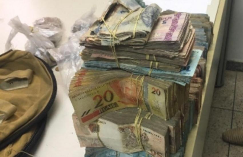 Polícia recupera parte de dinheiro roubado e 18 kg de explosivos após ataques a bancos no Ceará