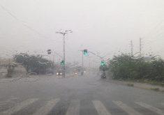 Chuva forte no início da manhã de domingo em Fortaleza (FOTO: Roberta Tavares/Tribuna do Ceará)