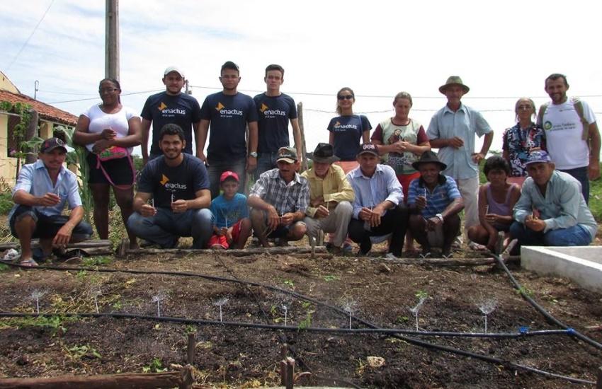 Projeto de estudantes do IFCE de Iguatu auxilia agricultores na luta contra a seca