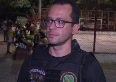 Declaração de André Costa foi feita após prisão de suspeitos da morte de um policial (FOTO: Reprodução/TV Jangadeiro)