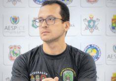 André Costa tem participado in loco de operações no Ceará (FOTO: Reprodução/Facebook)