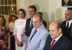 O evento, realizado para comemorar os 120 anos da ACL, reinaugurou o Palácio da Luz (FOTO: TV Jangadeiro)