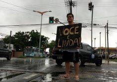 O estudante faz a homenagem desde 2015 (FOTO: Ricky Teixeira/TV Jangadeiro)