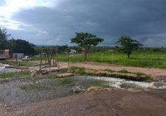 Chuvas no Ceará têm animado os cearenses. (Foto: Carlos Alberto/Facebook)