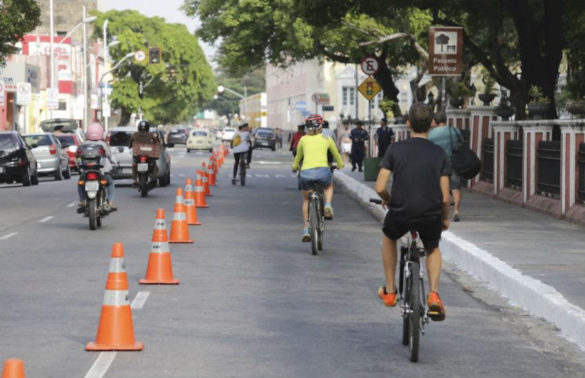 Projeto prevê avenidas fechadas para carros aos domingos e feriados em Fortaleza