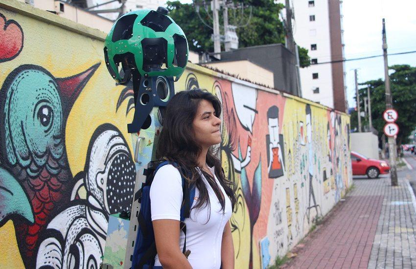 Fotógrafa cearense é a 1ª mulher do Brasil a virar mochileira do Google Street View