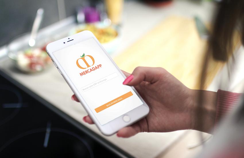 Jovens criam aplicativo de serviço delivery de supermercados em Fortaleza