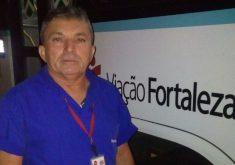 Paulo Ferreira é motorista de ônibus há 4 anos (FOTO: Arquivo pessoal)