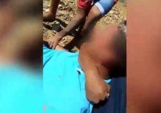 O adolescente foi torturado por 2 homens (FOTO: Reprodução)