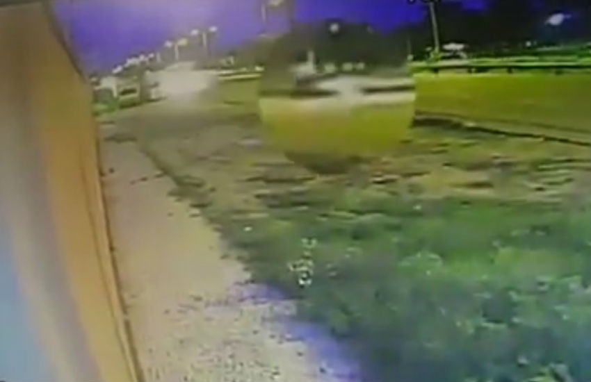 Vídeo mostra momento exato do atropelamento de mulher que teve corpo partido ao meio na BR-116