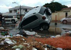 O acidente aconteceu na Avenida Aguanambi (FOTO: Doria Girão/TV Jangadeiro)