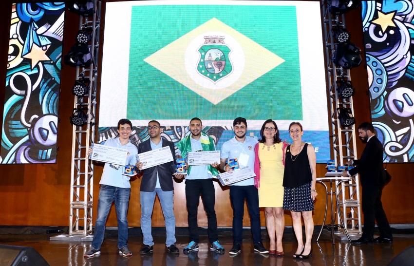 Estudantes cearenses conquistam 2º lugar em Desafio Universitário Empreendedor