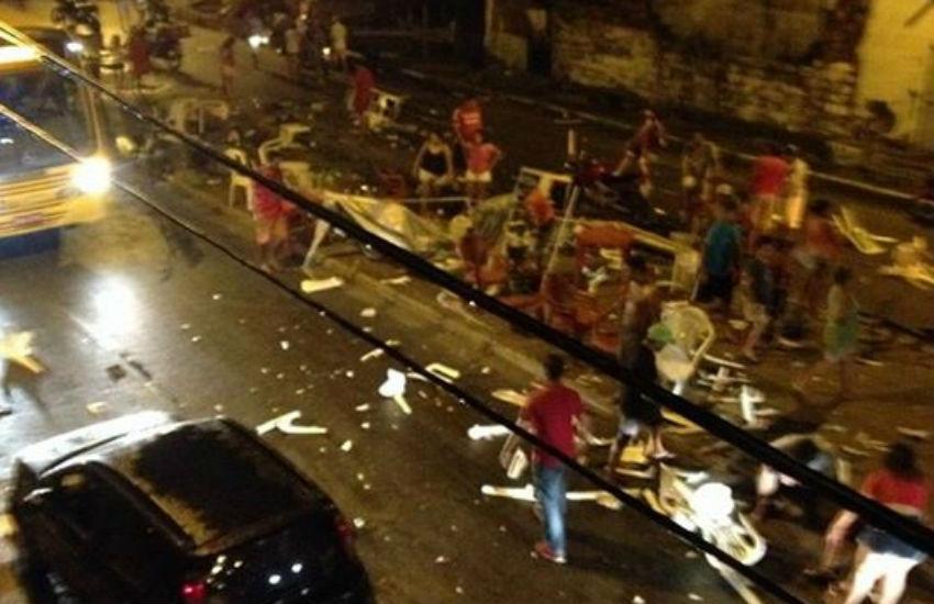 12 pessoas atropeladas