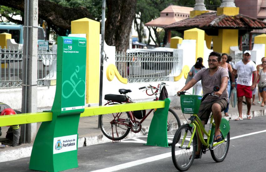 Mais usado no país, sistema de bikes compartilháveis de Fortaleza atinge 1,5 milhão de viagens