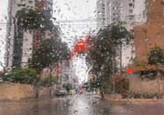 Choveu 36 milímetros em Fortaleza (FOTO: Reprodução Whatsapp)