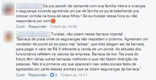 Página da Crocobeach no Facebook recebe enxurrada de comentários criticando ação violenta