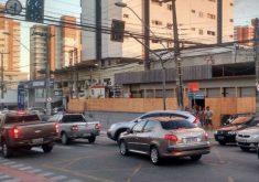O bairro Dionísio Torres sofreu com 3 quedas de energia (FOTO: Emílio Moreno/Tribuna do Ceará)