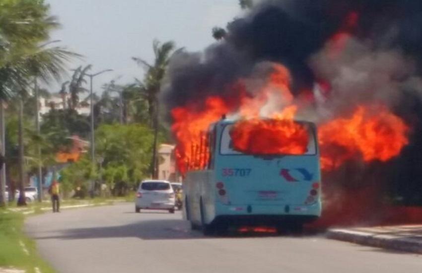 16 pessoas são presas e 23 ônibus incendiados em ataques no Ceará, confirma SSPDS