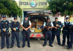 A iniciativa partiu dos próprios policiais militares (FOTO: Reprodução/Facebook)