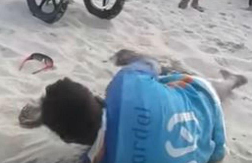 Barraca receberá protesto contra agressão de vendedor de picolé feita por seguranças