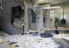 Agência bancária foi explodida